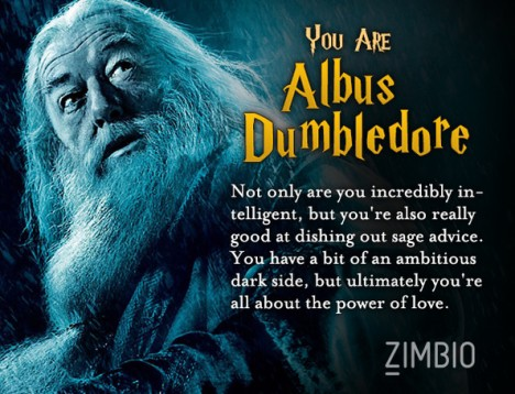 HP test Dumbledore