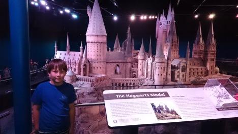 Modellen över Hogwarts